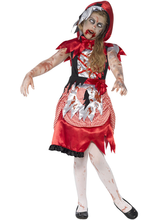 Zombie Miss Hood Costume Child