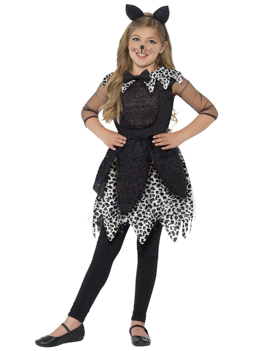Deluxe Midnight Cat Costume Child