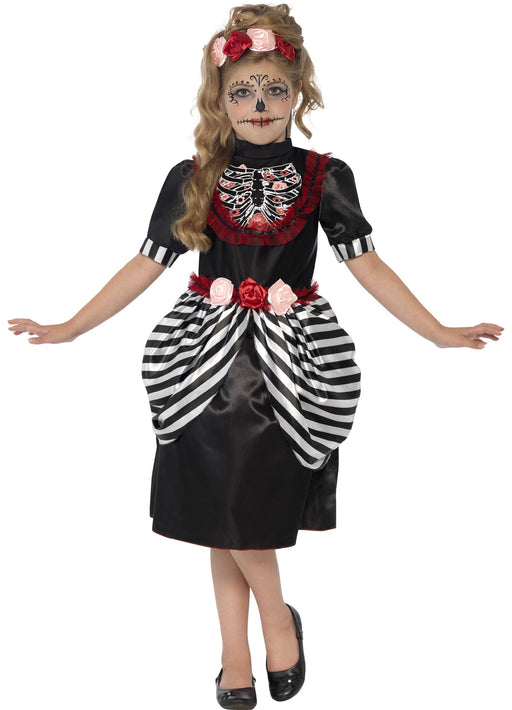 Sugar Skull Costume Child