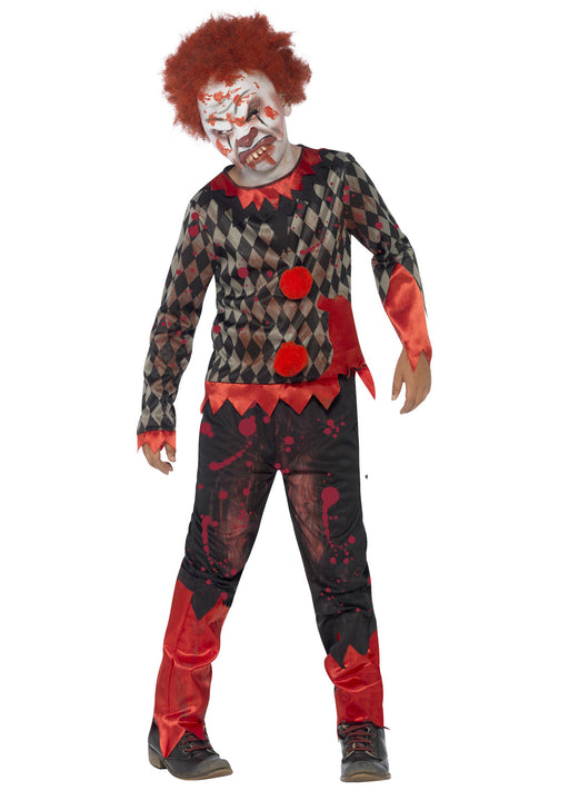 Deluxe Zombie Clown Costume Child
