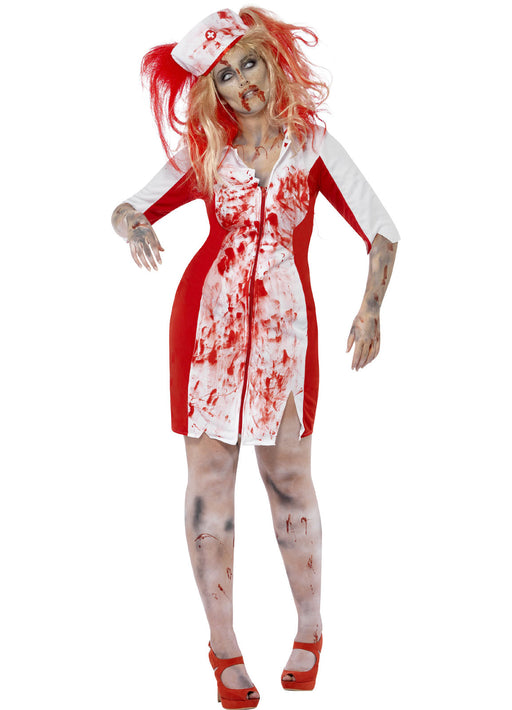 Curves Zombie Nurse Costume Adult