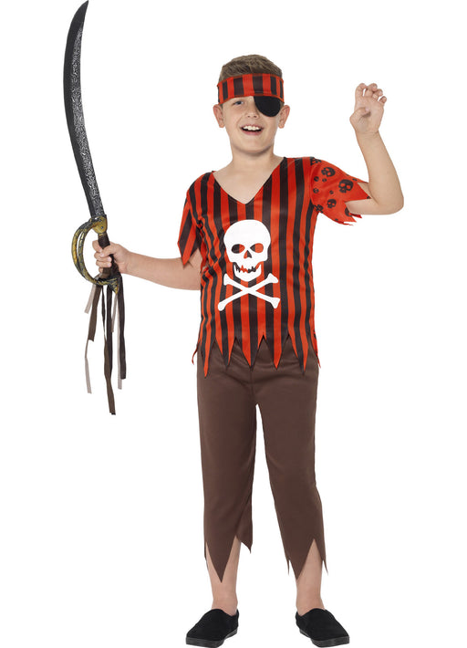 Jolly Roger Pirate Costume Child