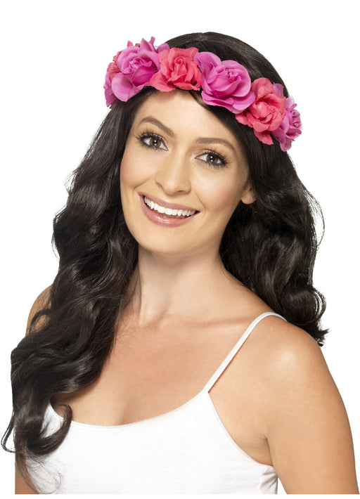 Hawaiian Pink Floral Headband
