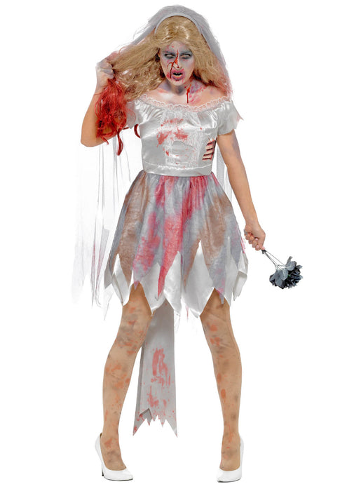 Deluxe Zombie Bride Costume Adult
