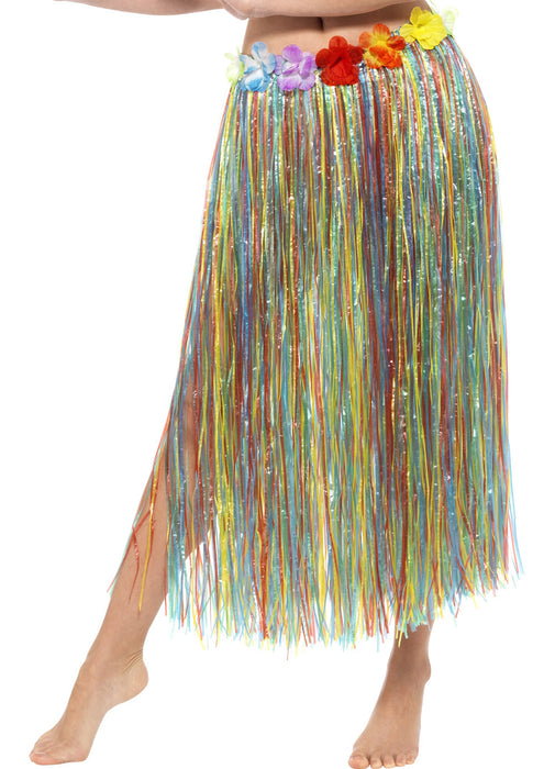 Hawaiian Coloured Hula Skirt