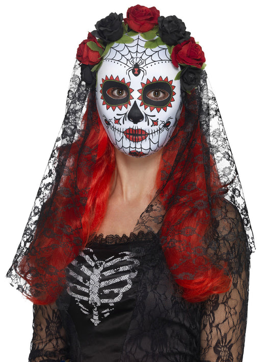 Day Of The Dead Senorita Mask