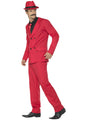 Red Zoot Suit Adult