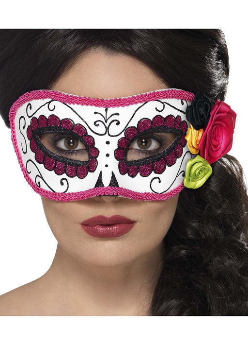 Day Of The Dead Pink Eyemask