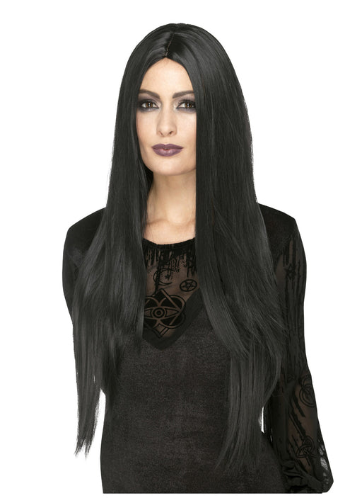 Deluxe Black Witch Wig