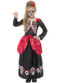 Deluxe Day Of The Dead Costume Child