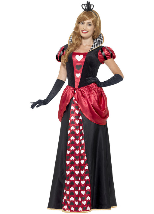 Royal Red Queen Costume Adult