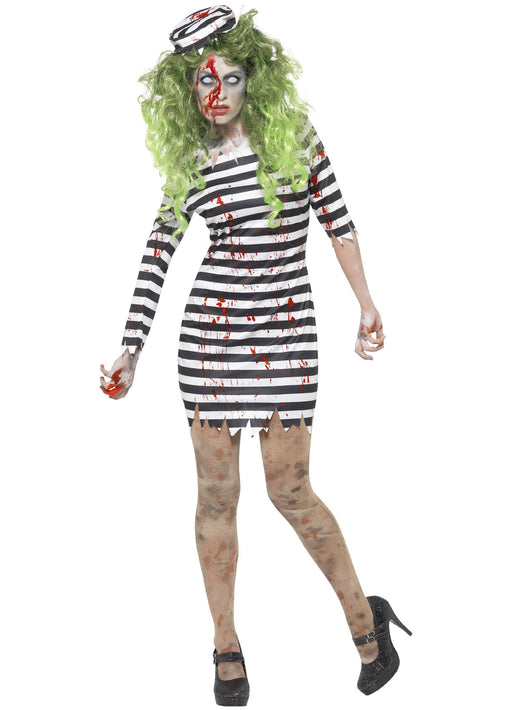 Zombie Jail Bird Costume Adult