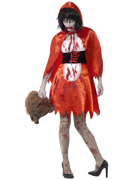 Zombie Little Miss Hood Costume Adult