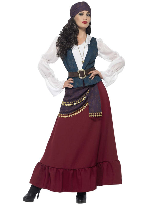 Deluxe Pirate Buccaneer Costume Adult