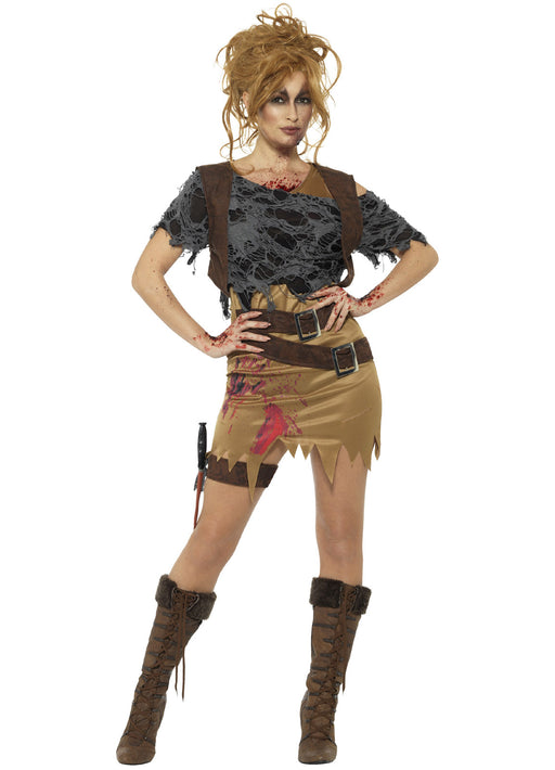 Deluxe Zombie Huntress Costume Adult