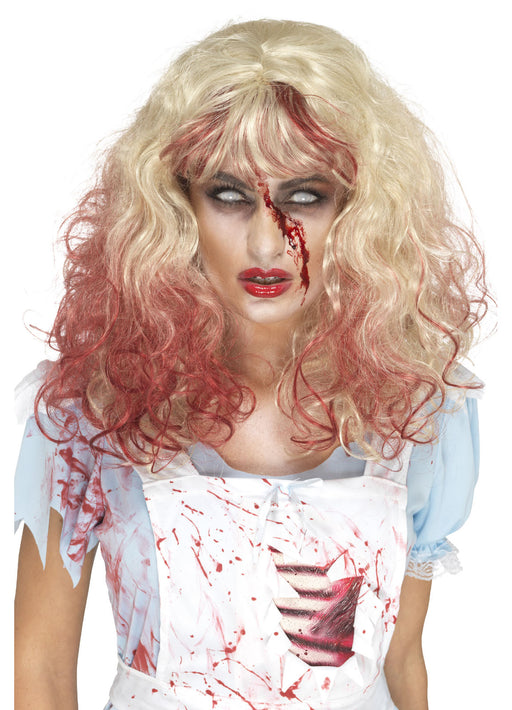 Zombie Bloody Alice Wig Adult
