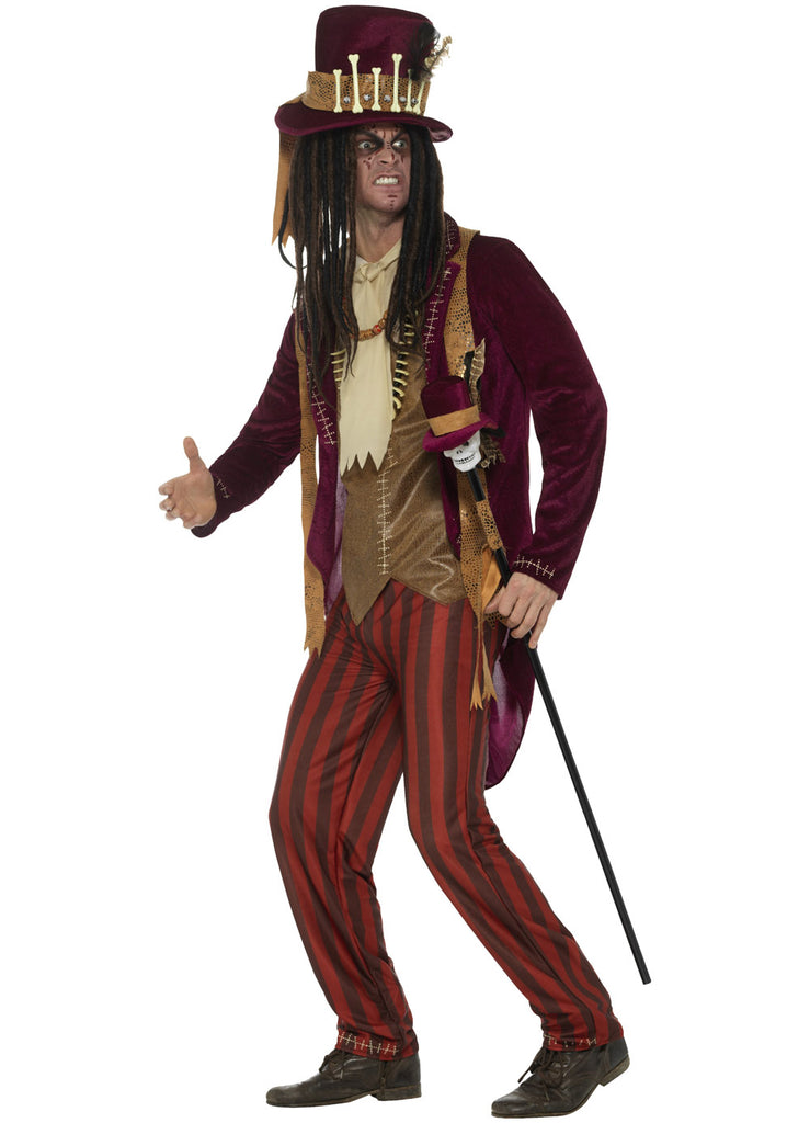 Voodoo Witch Doctor Costume Adult Party Britain