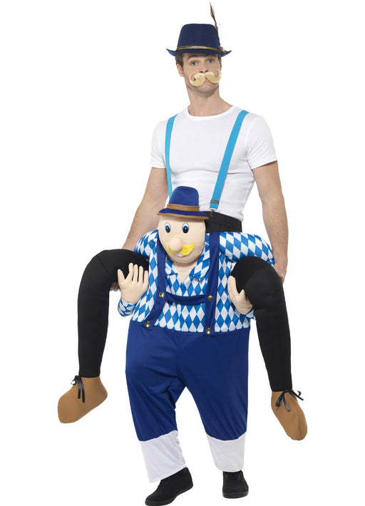 Piggyback Bavarian Costume Adult