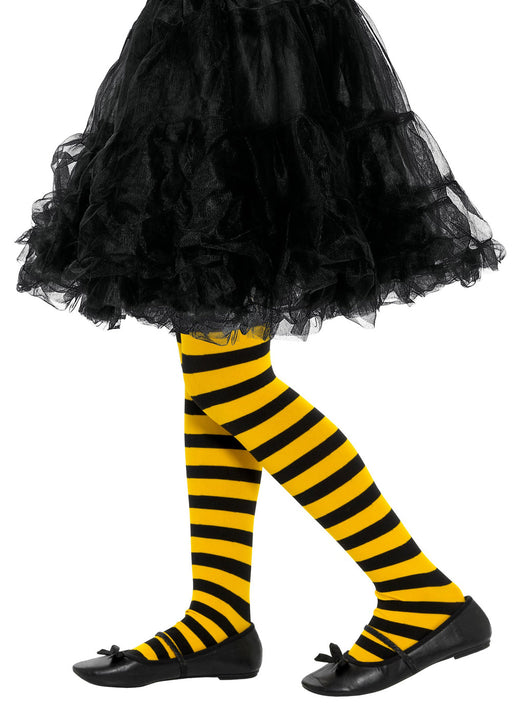 Kids Bee Stripe Tights