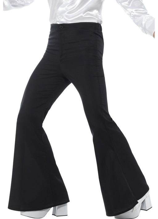 60's Black Flared Trousers