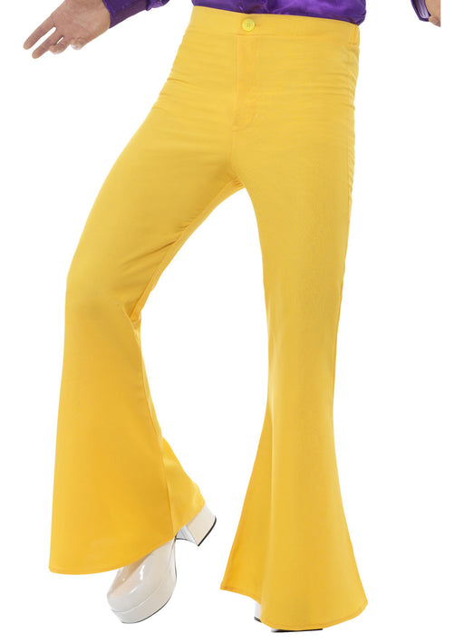 60's Yellow Flared Trousers