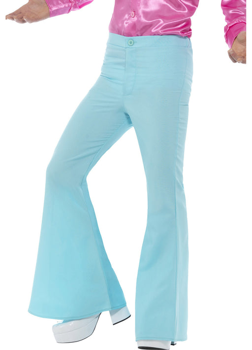 60's Blue Flared Trousers