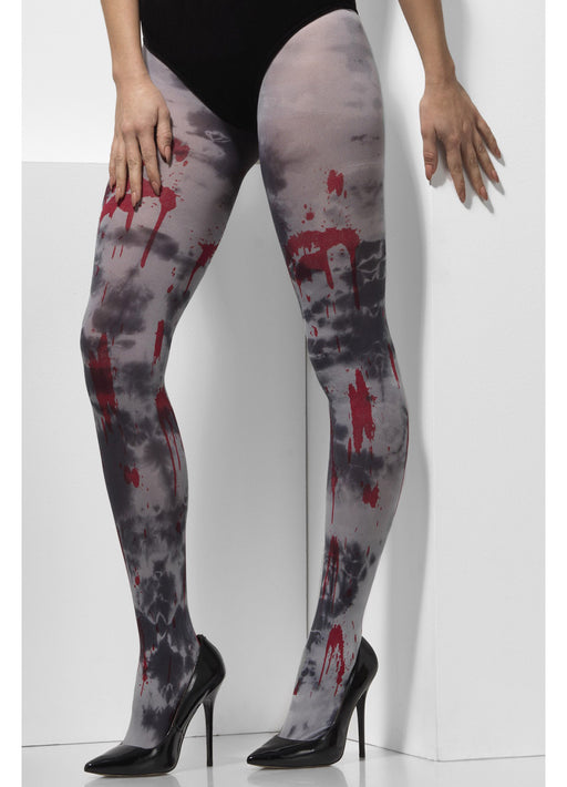 Zombie Dirt Grey Tights