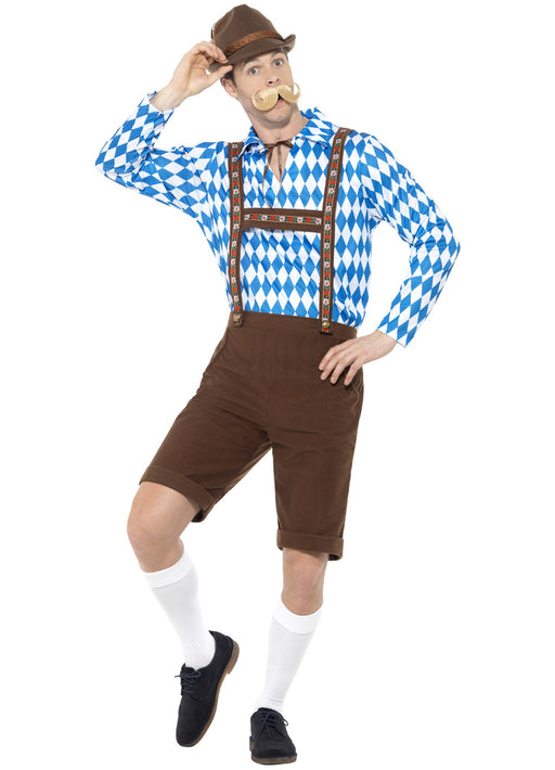 Bavarian Beer Man Costume Adult