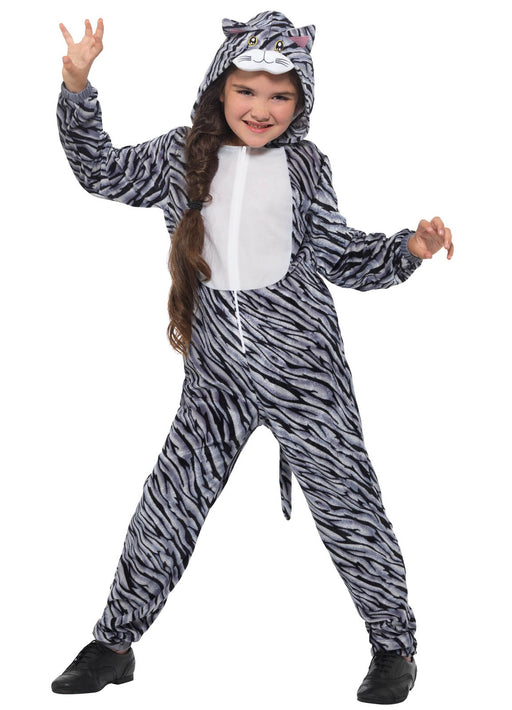 Tabby Cat Costume Child