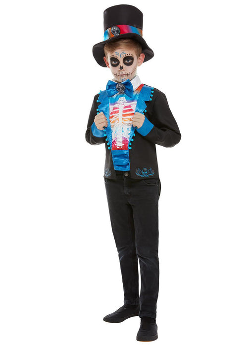 Day of the Dead Boy Costume Child