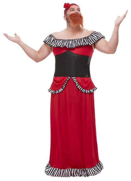 Bearded Lady Costume Adult