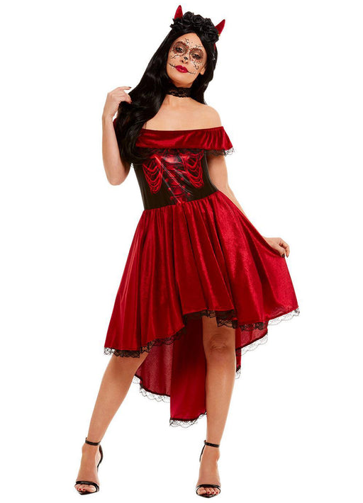 Day of the Dead Devil Costume Adult