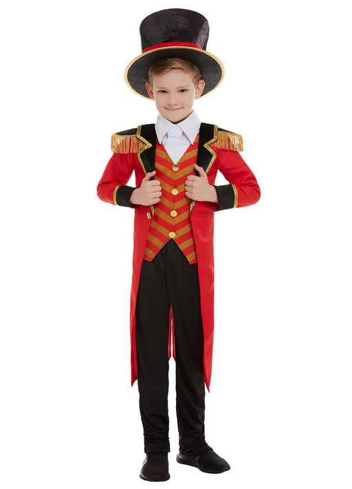 Deluxe Ringmaster Costume Child