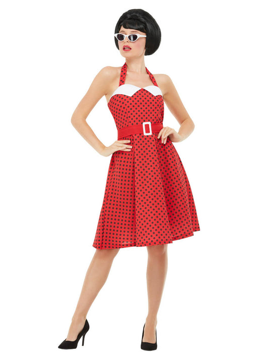 50's Red Pin Up Costume Adult