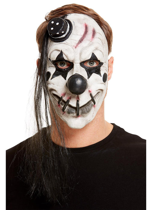 Scary White Clown Mask