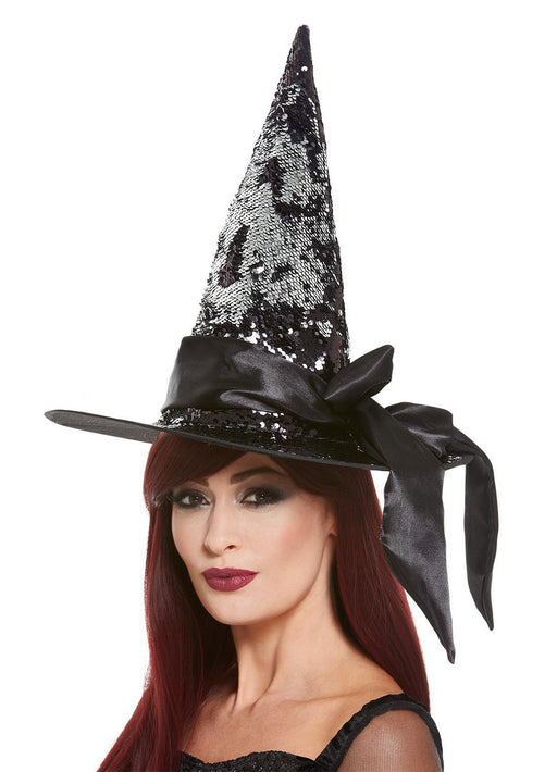 Deluxe Sequin Witch Hat