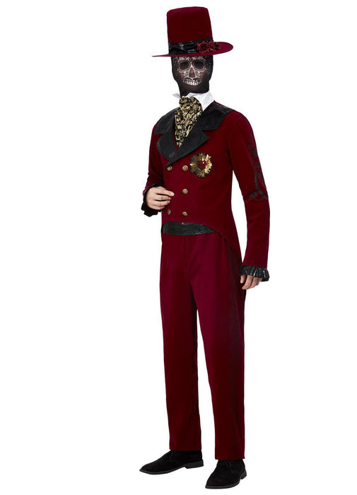 Day of the Dead Sacred Heart Groom Costume