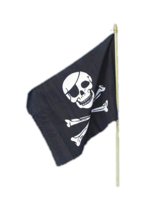 Pirate's Flag On Stick
