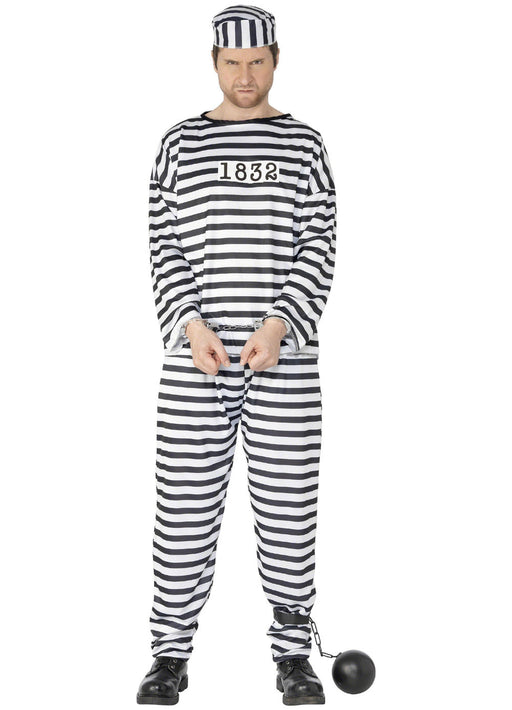 Convict Costume Adult