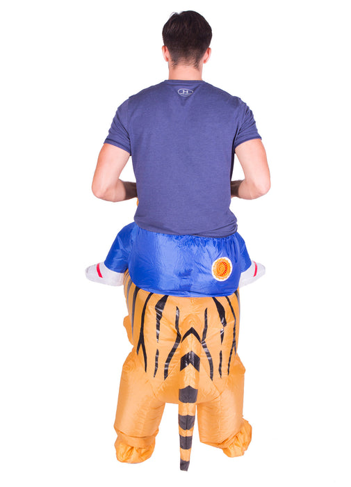 Inflatable Ride On Tiger Costume Adult