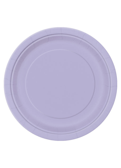 Lavender Party Plates 16pk