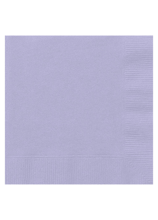 Lavender Party Napkins 20pk