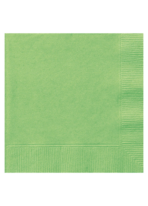 Lime Green Party Napkins 20pk