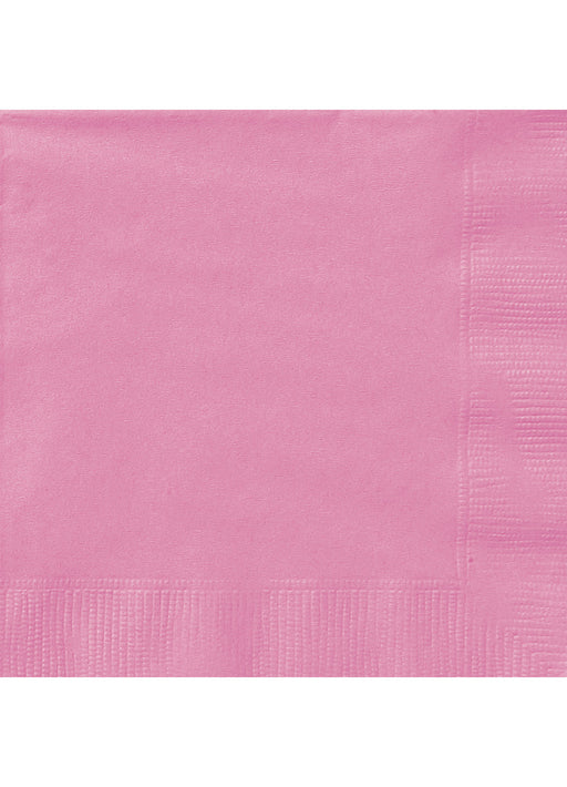 Hot Pink Party Paper Napkins 20pk