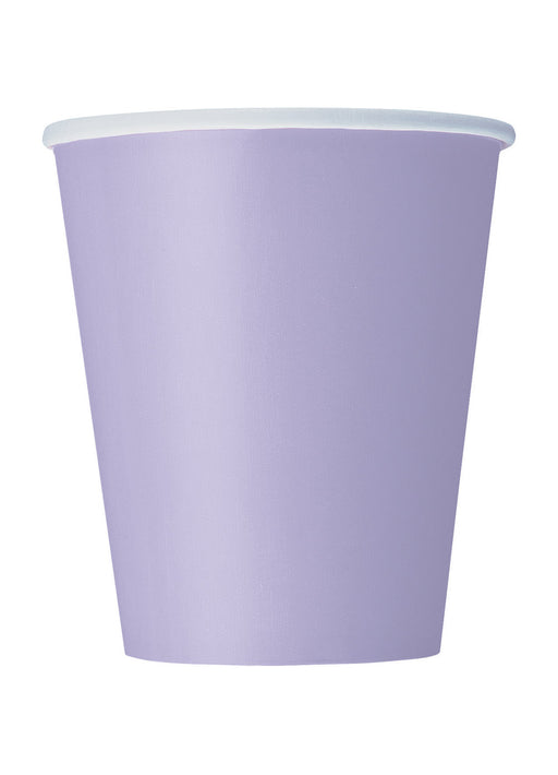 Lavender Party Cups 14pk