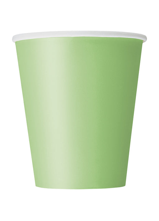 Lime Green Party Cups 14pk