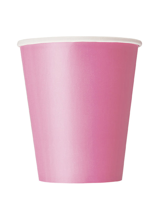 Hot Pink Party Paper Cups 14pk