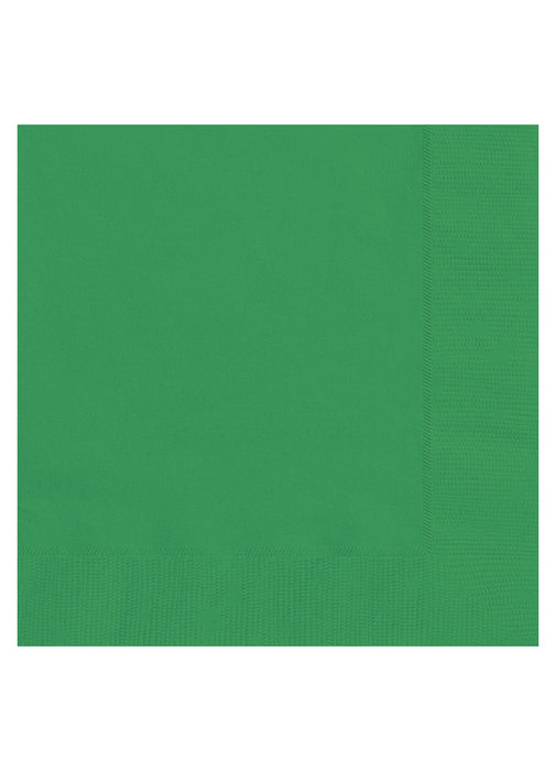 Green Party Paper Napkins 20pk