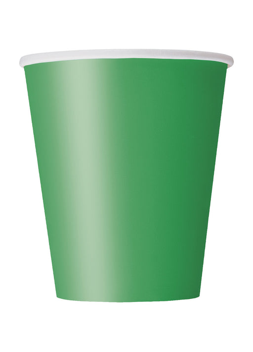 Green Party Paper Cups 14pk