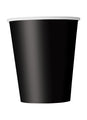 Black Party Paper Cups 14pk